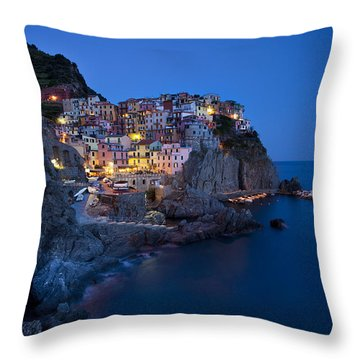 Throw Pillow featuring the photograph Cinque Terre by Brian Jannsen