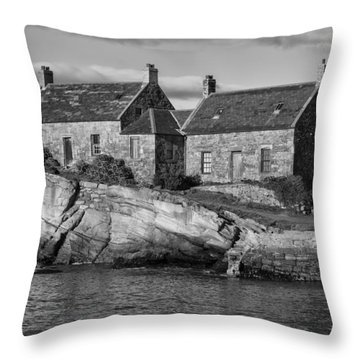 Cove Harbour Throw Pillow