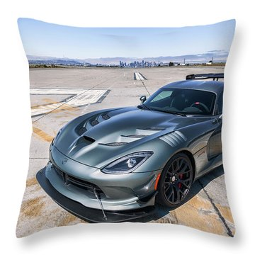#dodge #acr #viper Throw Pillow