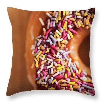 Doughnut Throw Pillows