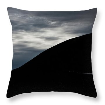 Etna, The Volcano Throw Pillow