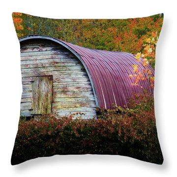 Fall Landscape Throw Pillow