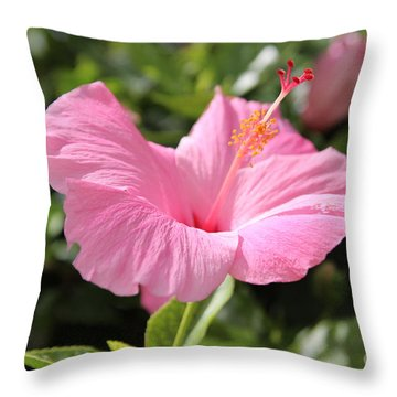 Flower Throw Pillow by Anthony Jones