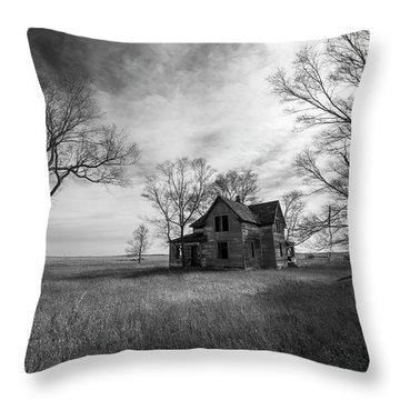 Forgotten  Throw Pillow by Aaron J Groen