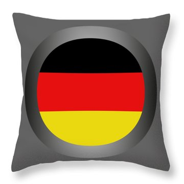 Germany Flag Throw Pillow