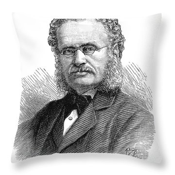 Henry Walter Bates Throw Pillow by Granger