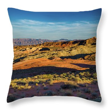 I Could Hear For Miles. Throw Pillow
