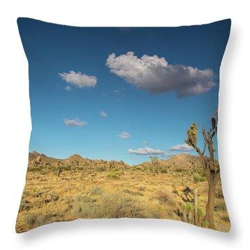 Joshua Tree Sunset Throw Pillow
