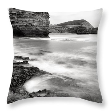 Ladram Bay Throw Pillow