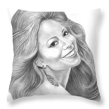Mariah Carey Throw Pillows