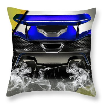 Mclaren P1 Collection Throw Pillow by Marvin Blaine