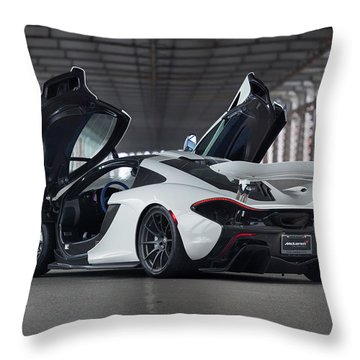 #mclaren #p1 #print Throw Pillow