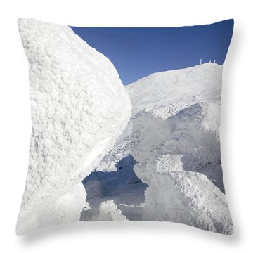 Mount Washington - New Hampshire Usa Throw Pillow by Erin Paul Donovan