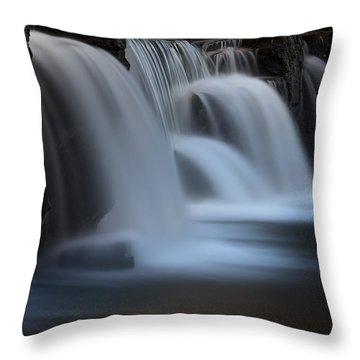 Natural Dam Throw Pillow