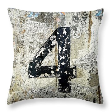 4 Newport Eugene Square Throw Pillow