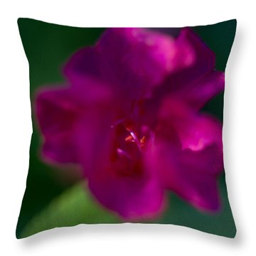 4 O'clock Throw Pillow