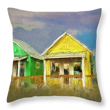 4 Of A Kind Throw Pillow