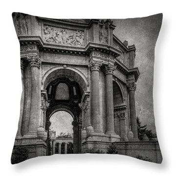 Throw Pillow featuring the photograph Palace Of Fine Arts by Ryan Photography