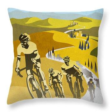 Arc De Triomphe Throw Pillows
