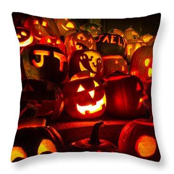 Pumpkinfest 2015 Throw Pillow