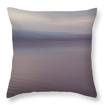 Quiet Before Morning Throw Pillow