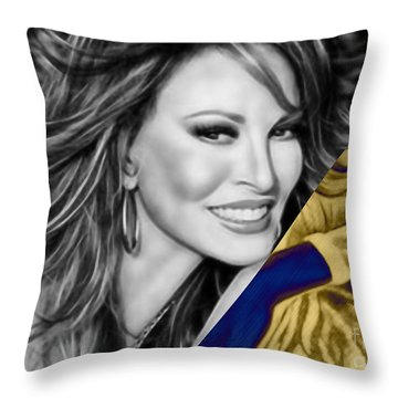 Raquel Welch Collection Throw Pillow