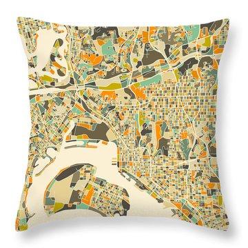 San Diego Throw Pillows