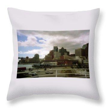San Francisco Port Throw Pillow