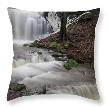 Scalber Force Throw Pillow