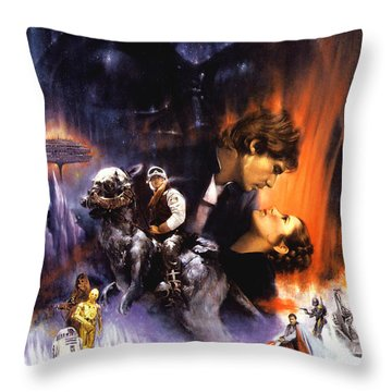 Star Wars Episode V - The Empire Strikes Back 1980 Throw Pillow