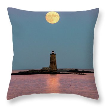 Super Moon 2016 Throw Pillow