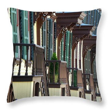 Sylvan Terrace Throw Pillow