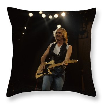Tom Petty Throw Pillow