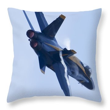 Us Navy Blue Angels Poster Throw Pillow by Dustin K Ryan