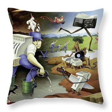 Volkswagen Throw Pillow