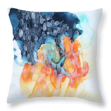 4 Winds - Khamsin Throw Pillow