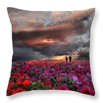 4087 Throw Pillow by Peter Holme III