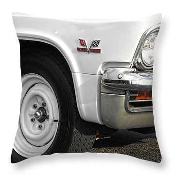 427 Throw Pillow by Kristie  Bonnewell