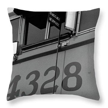 Throw Pillow featuring the photograph 4328 by Tara Lynn