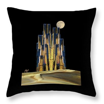 Throw Pillow featuring the photograph 4365 by Peter Holme III