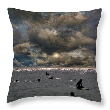 Throw Pillow featuring the photograph 4367 by Peter Holme III