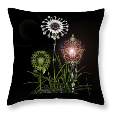 Throw Pillow featuring the photograph 4369 by Peter Holme III