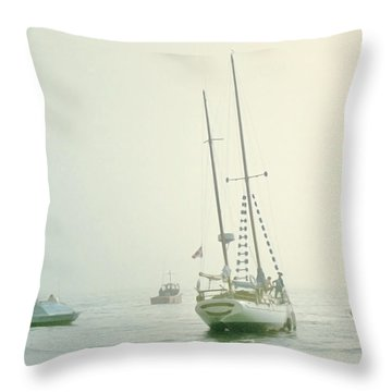 Throw Pillow featuring the photograph 4373 by Peter Holme III