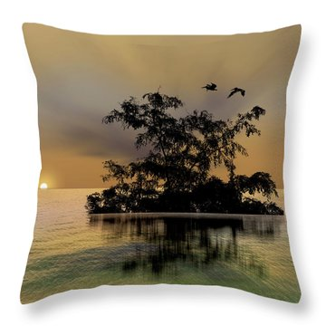 Throw Pillow featuring the photograph 4374 by Peter Holme III