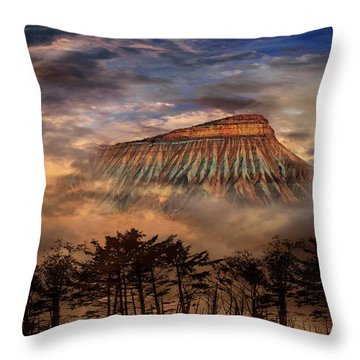 Throw Pillow featuring the photograph 4381 by Peter Holme III