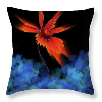 Throw Pillow featuring the photograph 4383 by Peter Holme III