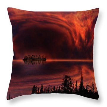 Throw Pillow featuring the photograph 4385 by Peter Holme III