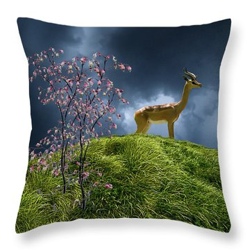 Throw Pillow featuring the photograph 4388 by Peter Holme III