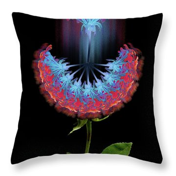 Throw Pillow featuring the photograph 4389 by Peter Holme III