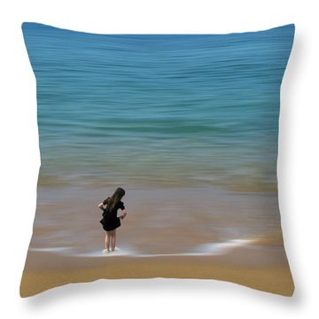 Throw Pillow featuring the photograph 4391 by Peter Holme III